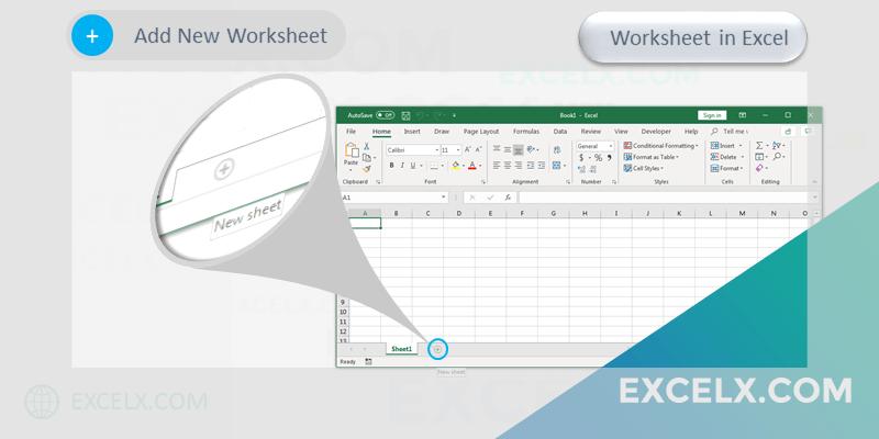 Add New Worksheet