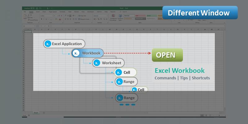 Open Multiple Excel Workbook Different Window