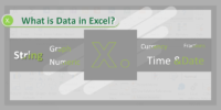 What is Data in Excel?