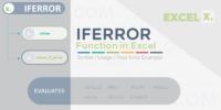 IFERROR Function in Excel