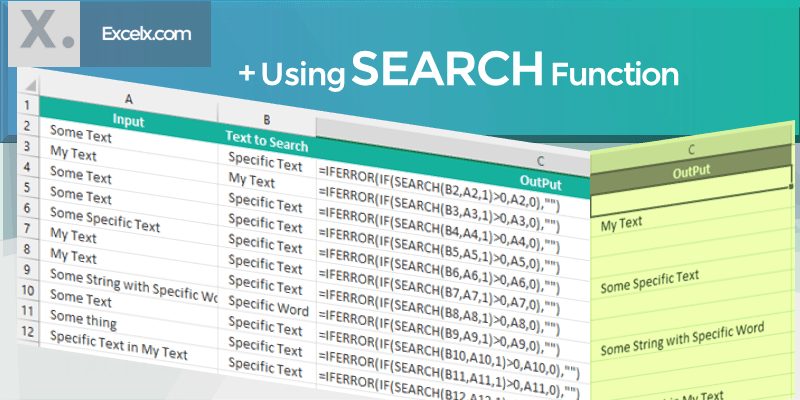 if cell contains specific text then return value